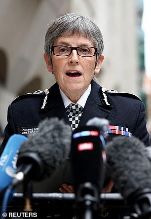 'Deeply concerned': Dame Cressida Dick