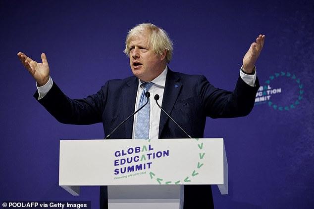 Mr Amersi donated to Boris Johnson's leadership campaign in 2019