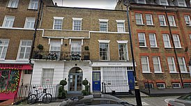 The leaked documents show the Blairs bought the building (pictured) by setting up a UK company to acquire Romanstone