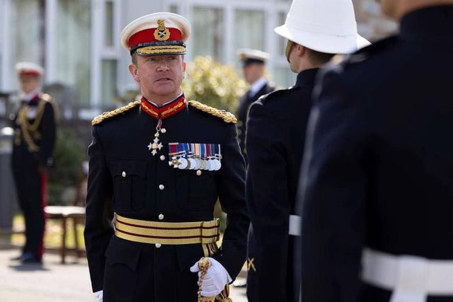 Tributes were paid last night to a former head of the Royal Marines who has died suddenly. Highly decorated Major General Matthew Holmes CBE served in all the UK's recent conflicts and was one of Britain's most senior military officers