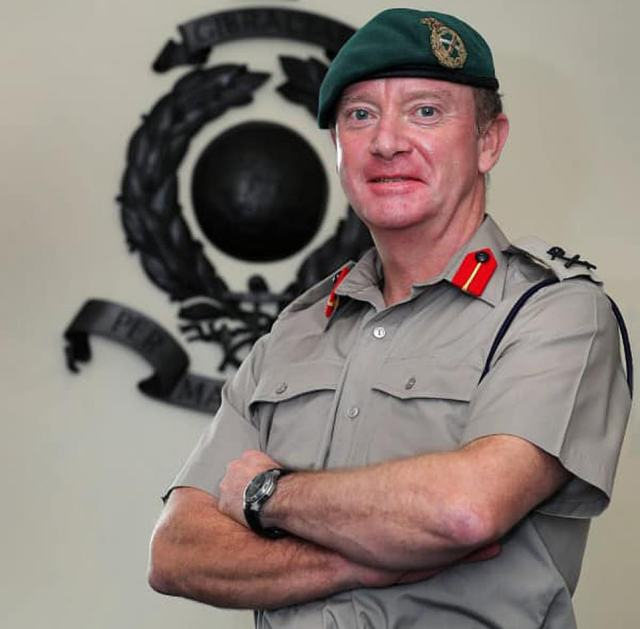 Matthew Holmes served as Commandant General Royal Marines from 2019 until April this year
