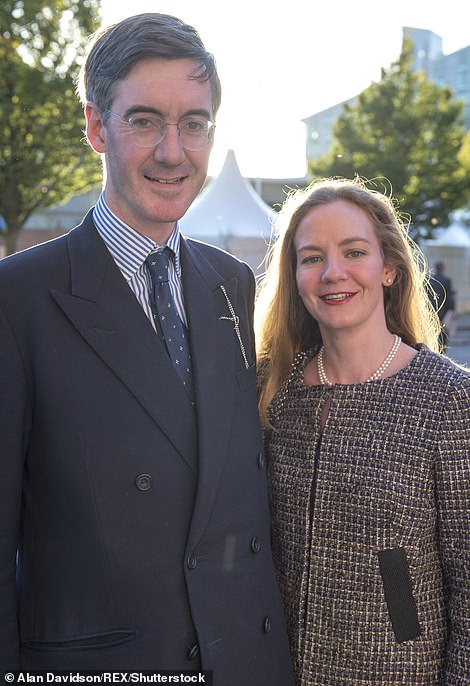 Although he is not named himself, the wife of Tory MP Jacob Rees_Mogg's wife is. Helena de Chair is the beneficiary of a holding company and trust to manage 'pictures and paintings' worth $3.5million.