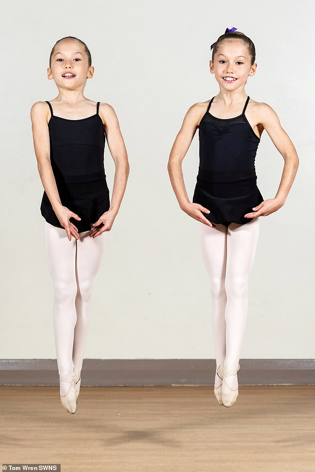Created in 1948, The Royal Ballet School's Junior Associates program nurtures young, talented students ages 8 to 17, and will give them the opportunity to dance with other gifted children.  picture, evelyn and isla