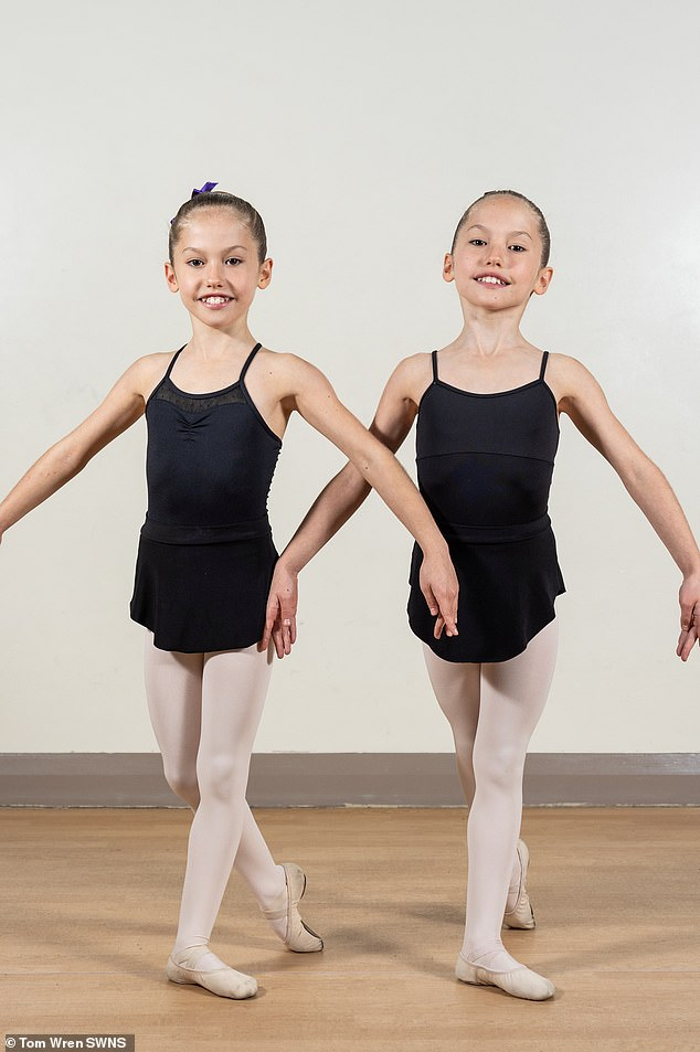 Identical twins Evelyn and Isla age 10, students at Redmaids High Junior School in Bristol, have recently been invited to join the Royal Ballet School's Junior Associates programme.