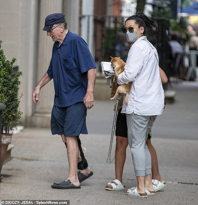 Sightseeing: In June, Robert and Tiffany move to New York City again