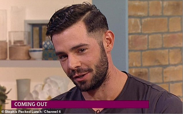 Former The Only Way Is Essex star poses as gay live on ITV's This Morning in 2014