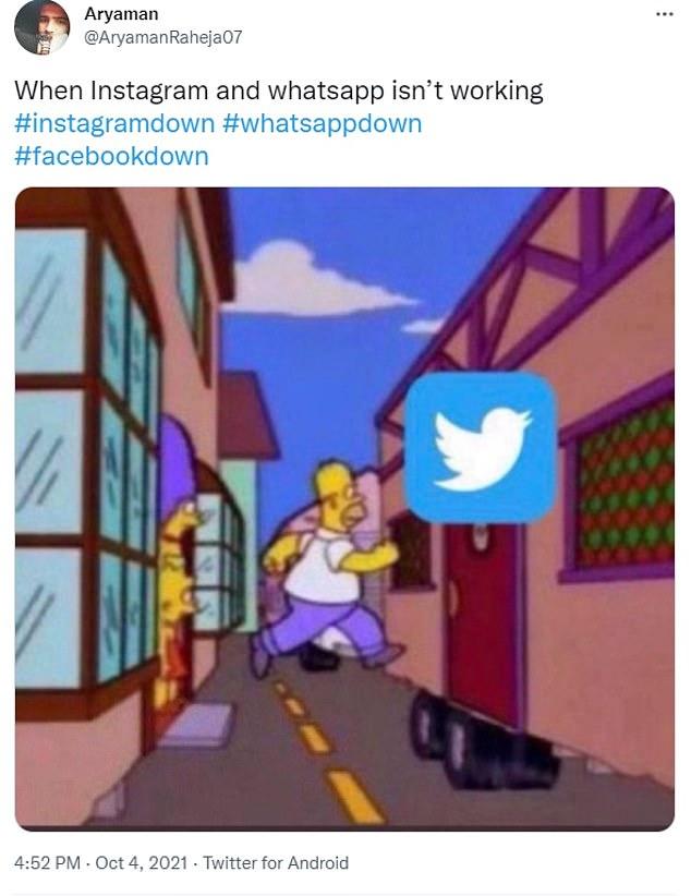 Facebook Instagram WhatsApp Messenger en panne