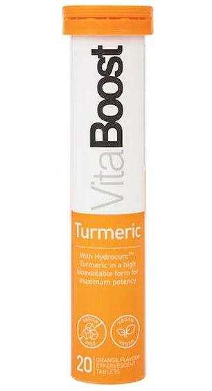 Vitaboost Turmeric, £14.99 for 20, hollandandbarrett.com