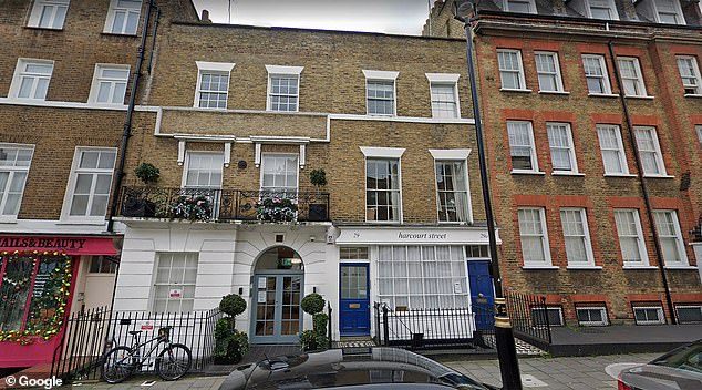 The Blair's managed quite legally to acquire this prime London real estate (pictured), which now houses Cherie's law firm Omnia, without having to pay a stamp duty bill of £312,000