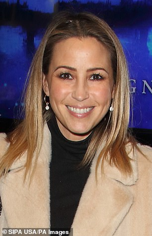 Coming soon: Rachel Stevens of S Club 7 will compete in the upcoming series Dancing on Ice in January 2022, it is reported (pictured in 2010)