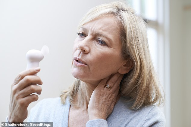 So news this week about proposals to end the fee for HRT - it costs £9.35 per prescription in England - should be a source of relief to many of the UK's 3.4 million menopausal women (stock image)