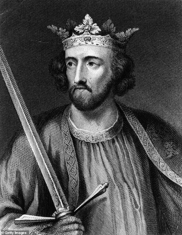 Family tree: The Last Leg star went onto discover that Edward I (pictured), who was King of England from 1272 to 1307, is his 23x great-grandfather