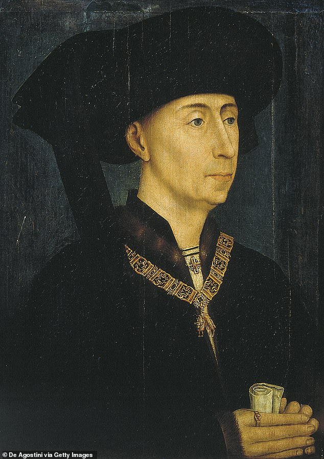 Overseas: Not only is he related to the English upper classes, he also discovered that his 24x great-grandfather is the French King Phillip III (pictured)