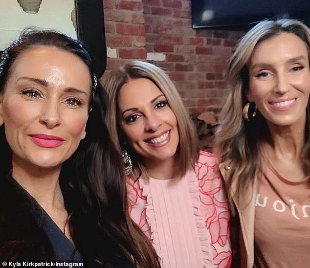 'They all had managers or publicists - some were even actors!' New cast members Kyla Kirkpatrick, Anjali Rao and Cherry Dipietrantonio are pictured together