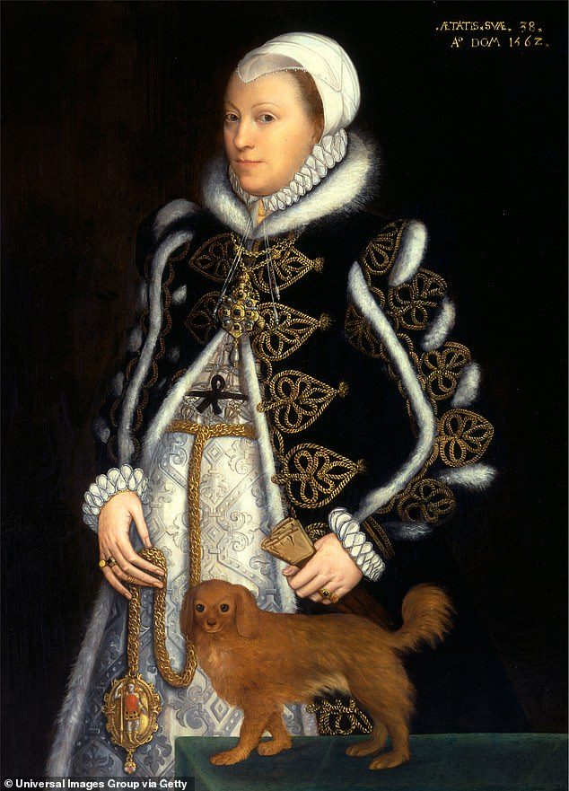Daughter? Catherine, who lived from 1524-1569, is believed to be portrayed in this 1562 portrait by Steven van der Meulen