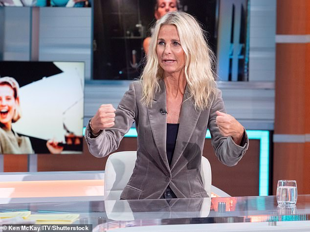 Brave:Ulrika Jonsson has discussed her harrowing experience of the menopause in an emotional new interview (pictured May)