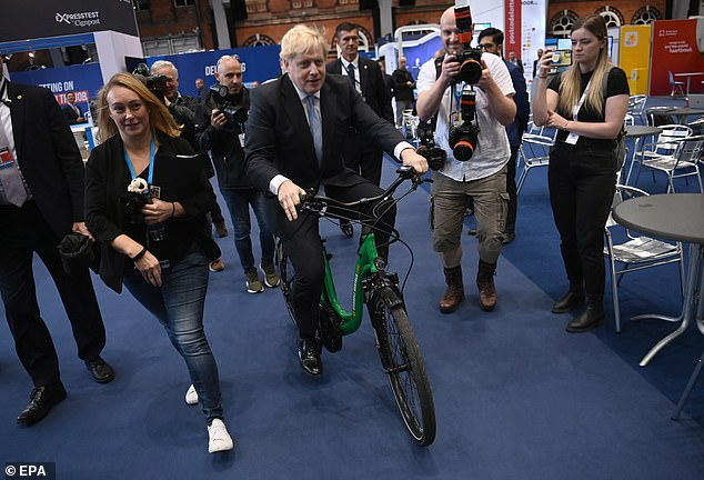 Prime Minister Boris Johnson had earlier spoken about his plan to make women and young girls feel safer across the UK