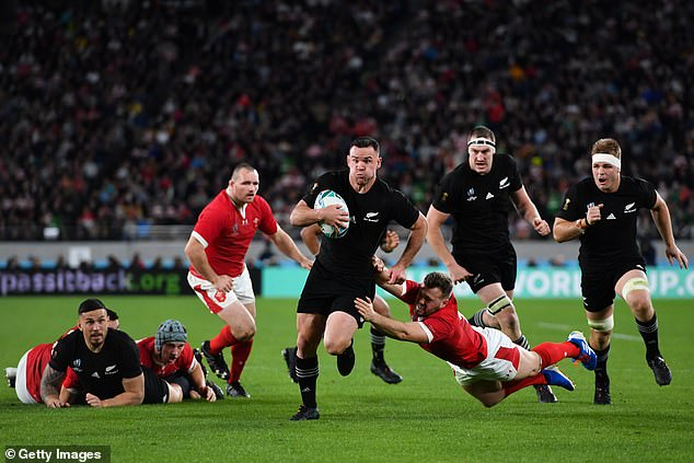 It would come into force on October 11, meaning that if the law is passed rugby fans attending Wales' autumn games against the All Blacks (2019 World Cup match pictured), Australia and South Africa would require them