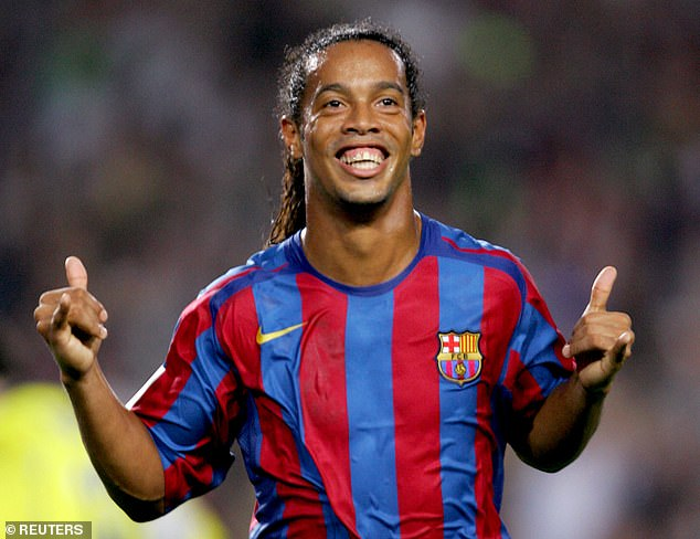 Phillips praised the Barcelona legend for always playing 'with a smile' and 'having a laugh'