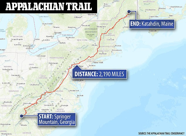 , Hiker who says he was stopped by Brian Laundrie on the Appalachian Trail speaks out, Nzuchi Times National News