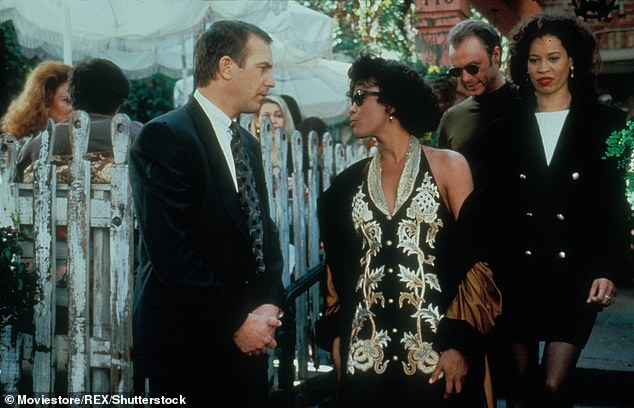 Acclaim: Whitney Houston and Kevin Costner's performances in the romantic drama made the film one for the history books