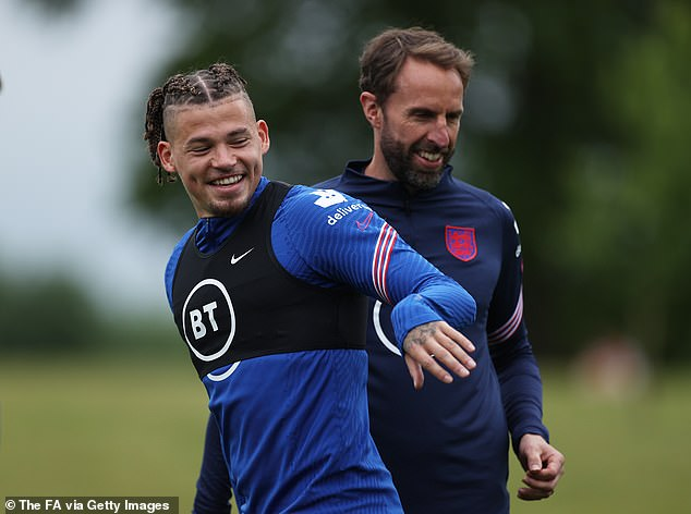 He admitted he 'screamed at the top of my voice' after being called up by Gareth Southgate