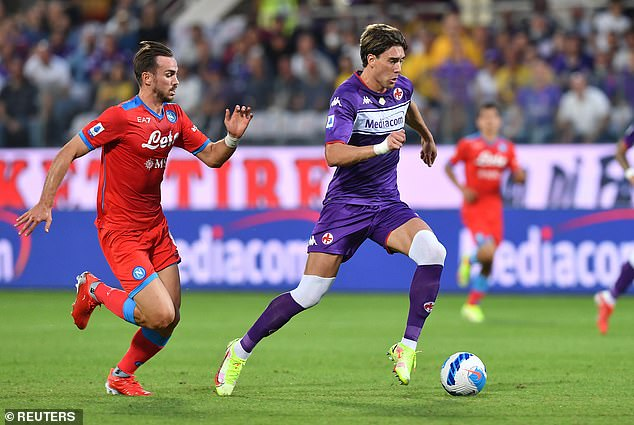Fiorentina striker Dusan Vlahovic has turned down a lucrative new deal with the Serie A side