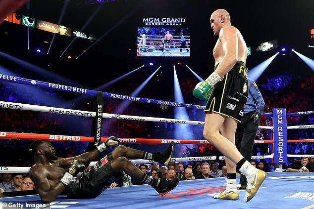 He recently defeated Deontay Wilder by TKO in 2020 and faced him again on Saturday