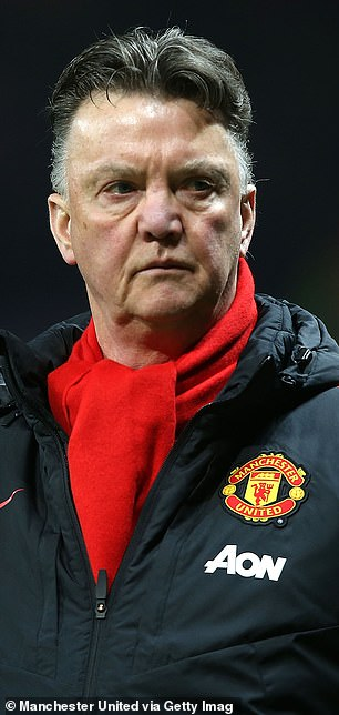 Louis van Gaal won United an FA Cup in 2016 and was sacked shortly afterwards