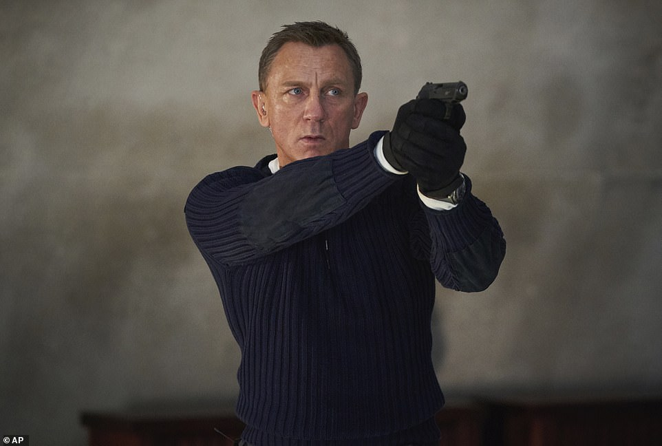 Success:The latest James Bond film scored an overseas record amid the pandemic with a £87.7million ($119.1 million) international opening in 54 markets