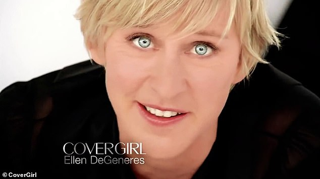 Moving on: The jump to producing beauty products is a little interesting as Ellen previously had a longtime partnership with CoverGirl over several years