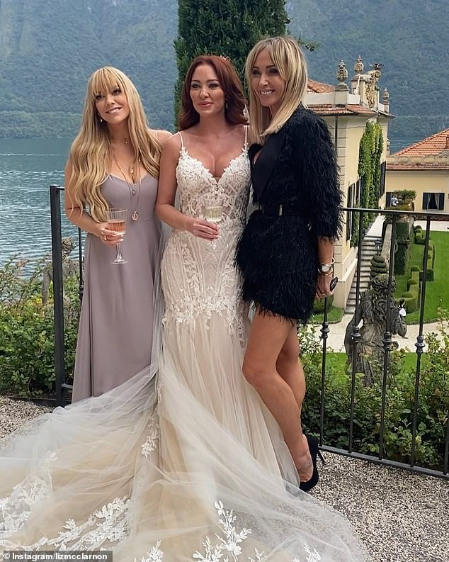 'Whole again … again.': Kerry and wrote in her column for new! magazine that she was feeling left out after seeing pictures of Natasha, Liz and Jenny together at the wedding