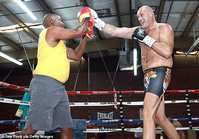 The Gypsy King has cut sex in the production of his heavyweight blockbuster in Las Vegas