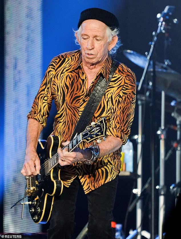 Friends: Paul also famously makes his own ale on the farm which he sends to his famous friends, including Rolling Stones guitarist Keith Richards (pictured last week).
