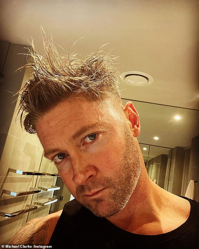 Out: Like Willie, cricket legend Michael Clarke ((pictured) had signed on for season three, but also had to pull out due to injury
