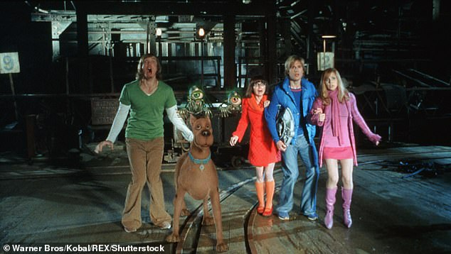 Many individuals were stunned by the revelation and didn't know the island was used as the location of 'Spooky Island' in the film (pictured: A scene from the Scooby Doo Spooky Island film)