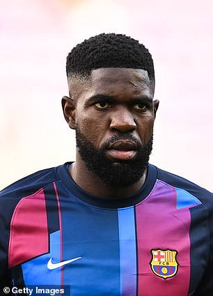 Barca will try to sell Samuel Umtiti in January