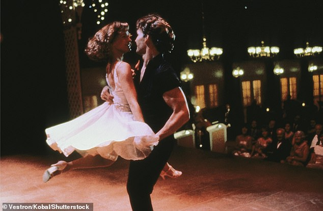 The power ballad, originally performed byBill Medley and Jennifer Warnes, was the main hit from the 1987 cult classic Dirty Dancing, starring Patrick Swayze and Jennifer Grey (above)