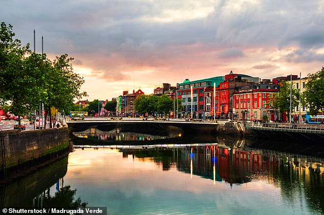 Holidaymakers can travel from Manchester to Dublin this October for £39 per person
