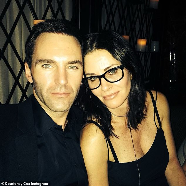 Her great love: The siren with rock star Johnny McDaid; he is a singer, songwriter, and record producer from Northern Ireland and a member of the bands Snow Patrol and Vega4