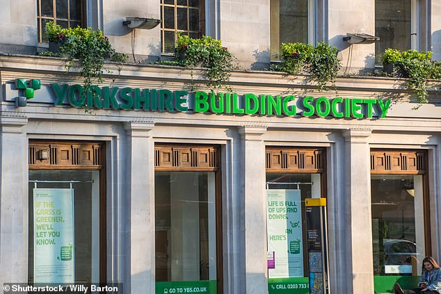 Record: Yorkshire Building Society's 0.78% mortgage rate is lowest in its history