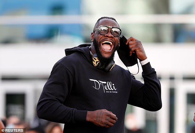 Wilder says he's eyeing a possible heavyweight reunification after that