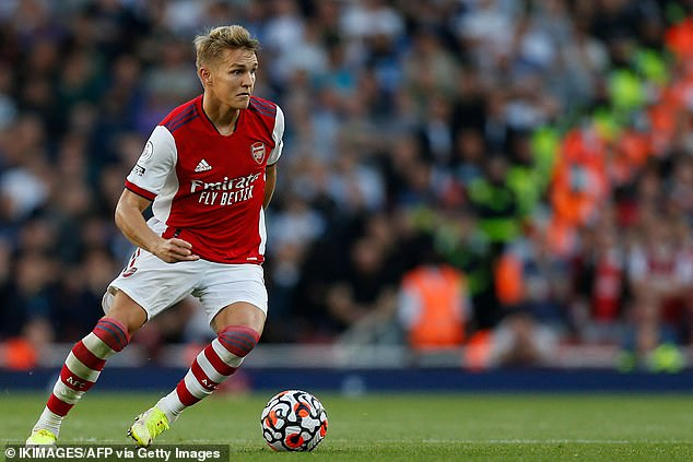 The Norwegian completed a £30m permanent move to Arsenal after a loan spell last season