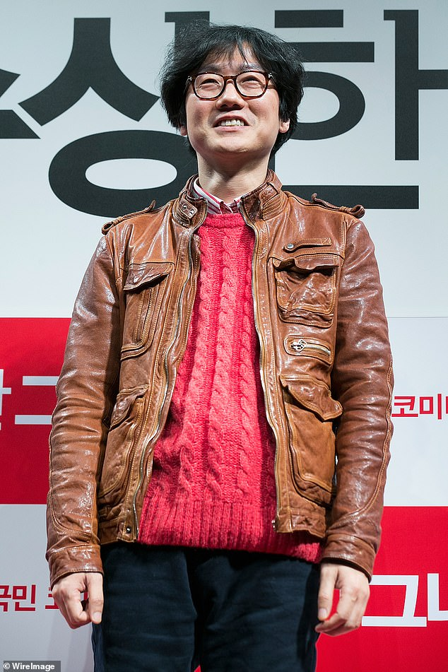 'They're the same, but I did it before': Squid game creator Hwang Dong-hyuk hits back at claims of plagiarism after audiences stared at Netflix hit COPIES 2014 Japanese film As the Gods Will (pictured Hwang in 2013) was accused.