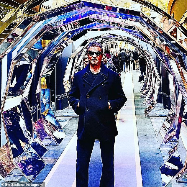 Next: 'England to start working on all new exes that also has new cast members,' Sylvester teases with a crisp-looking shot of himself inside a reflective tunnel