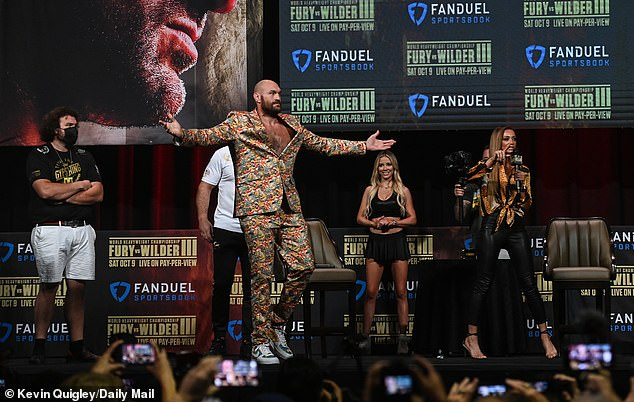 Fury calls Wilder 'vulnerable' and says he was 'conspiring' in fraud claims