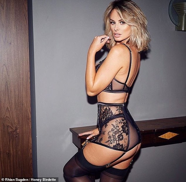 , Rhian Sugden is keen to 'tighten up a few squishy bits' after falling off the fitness bandwagon, The Habari News New York