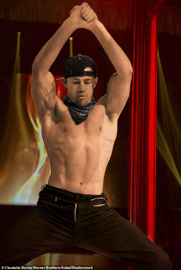 fit!  As reported by The Mirror on Thursday, Adam, who won three medals at the Tokyo Olympics this year - two gold and one silver - commented, 'Who wouldn't want to be played by Channing Tatum?'  Channing, 41, is featured in the 2015 Magic Mike XXL film