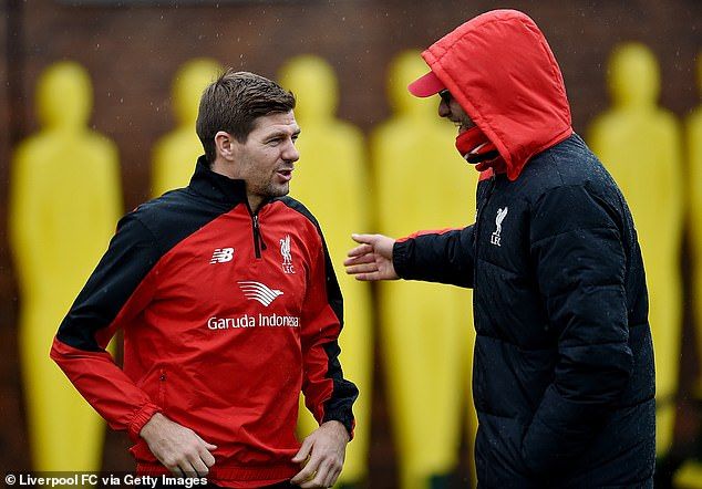 Klopp may not have had to chance to manage Gerrard, but the pair have worked together