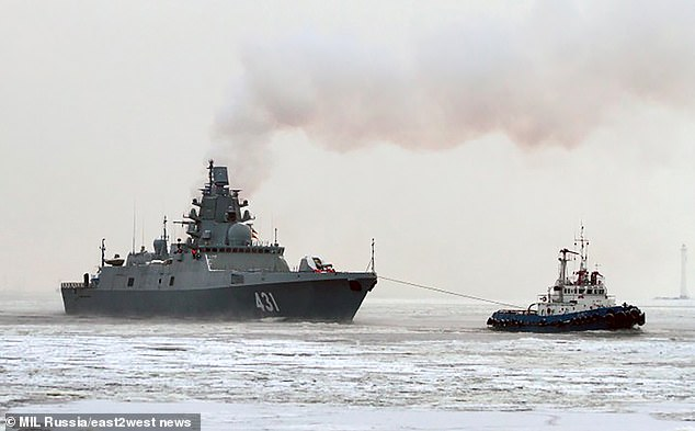 A new Arctic fleet - the country's fifth - is intended to help Russia secure future gas and other energy supplies in the polar region